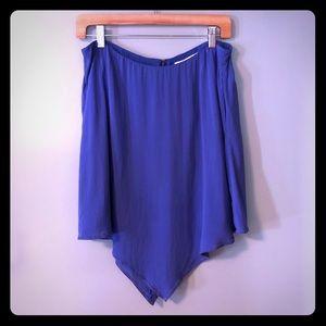 BCBGeneration Sz 12 Lapis Blue Skirt NWT
